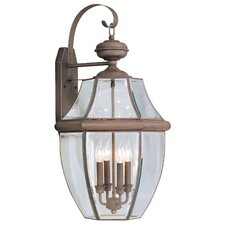 Monterey 4 Light Outdoor Wall Lantern