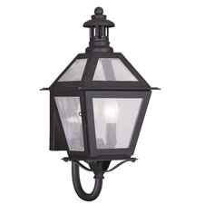 Waldwick 2 Light Outdoor Wall Lantern