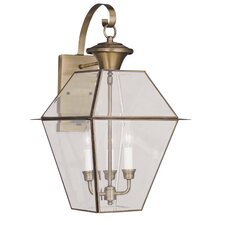 Westover 3 Light Outdoor Wall Lantern