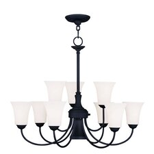Ridgedale 10 Light Chandelier