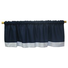 Luke Rod Pocket Tailored Curtain Valance