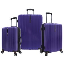 Tasmania 3 Piece Expandable Spinner Luggage Set