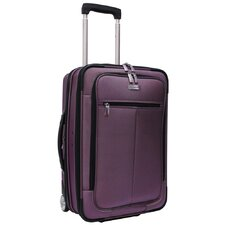 "Sienna 21"" Hybrid Hardsided Rolling Carry On Garment Bag Upright"
