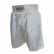Boxing Shorts in Solid White