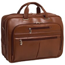 R Series Rockford Leather Laptop Case