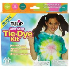 One Step Dyes Bright Tie Kit