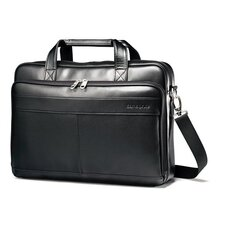 Leather Slim Brief Duffel