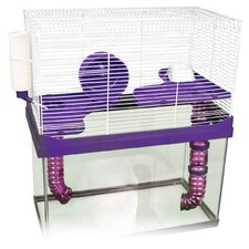 High Rise Small Animal Cage - 10 Gallon