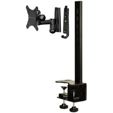 "Full Motion Desktop Mount with 6.5"" Extension (Up to 30"" Screens)"