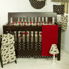 Houndstooth Crib Bedding Collection