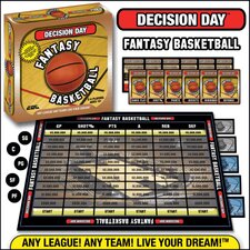 Decision Day Fantasy Basketball Trading Card Board Game
