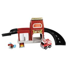 GoGo City Fire Station Playset