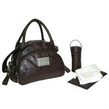 Quilted Traveler Diaper Bag Set