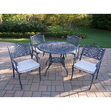 Tea Rose Dining Set with Cushions
