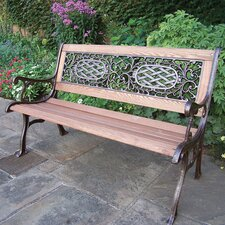 Mississippi Wood and Cast Iron Park Bench