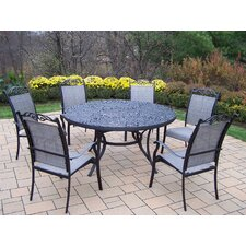 Mississippi 7 Piece Sling Dining Set