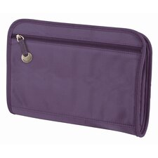 RFID Blocking Purse Organizer with Exterior Pockets