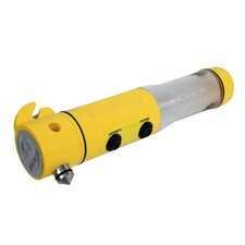 4-in-1 Car Emergency Tool in Yellow