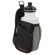 On the Go Water Bottle Holder in Black