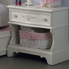 Arielle 1 Drawer Nightstand