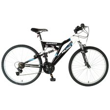 Men's 18-Speed Ranger Dual Suspension Off-Road Bike