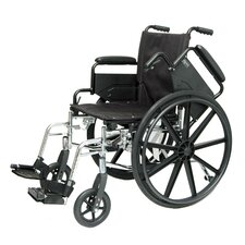 Deluxe Lightweight Wheelchair