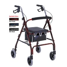 Aluminum Rollator with Loop Brakes