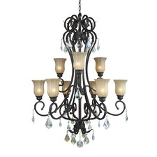 Jessica 9 Light Chandelier