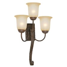 McKensi 3 Light Wall Sconce