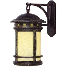 Sahara 1 Light Outdoor Wall Lantern