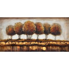 Talking Trees Canvas Art