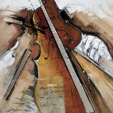 Strings Abstract Canvas Art