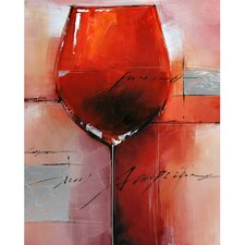 Revealed Artwork Red Merlot I Wall Art