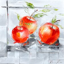 Revealed Artwork Fresh Apples I Wall Art