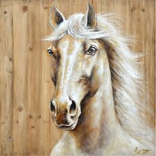 Revealed Artwork Equine Profile I Wall Art