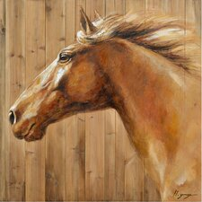 Revealed Artwork Equine Profile II Wall Art