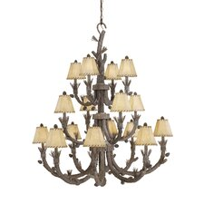 Aspen 16 Light Chandelier
