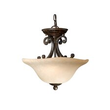 Caspian 2 Light Convertible Inverted Pendant