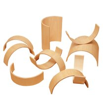 20 Piece Bentwood Block Set