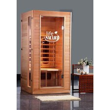 1-2 Person Infrared Sauna with Ceramic Heaters and MP3 Sound System