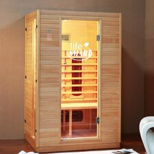 2 Person Infrared Sauna with Ceramic Heaters