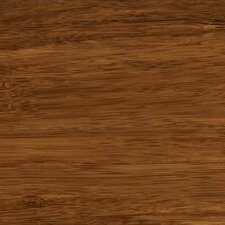 "Synergy Floating Floor 7-11/16"" Strand Bamboo Flooring in Chestnut"