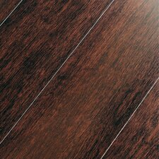 "Portfolio 5"" Engineered Self-Locking Bamboo Flooring in Rich Cognac"