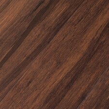 "Portfolio 5"" Engineered Self-Locking Bamboo Flooring in Brown Sugar"