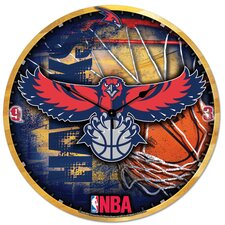 "NBA 18"" High Def Clock - New Orleans Hornets"