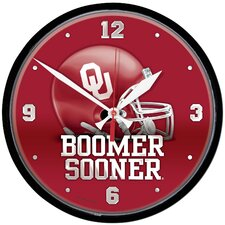 "University of Oklahoma ""Boomer Sooner"" Clock"
