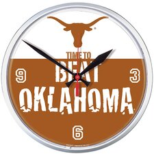 "Texas Longhorns ""Beat Oklahoma"" Clock"