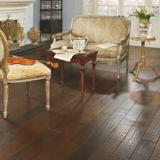 "Casitablanca Handcrafted 5"" Engineered Kupay Flooring in Brackish"