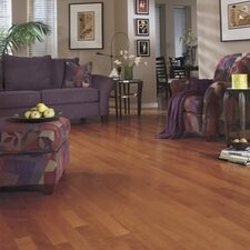 "Hermosa Plank 3"" Engineered Brazilian Hickory Flooring in Sienna"