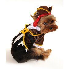 Pirate Captain Dog Costume